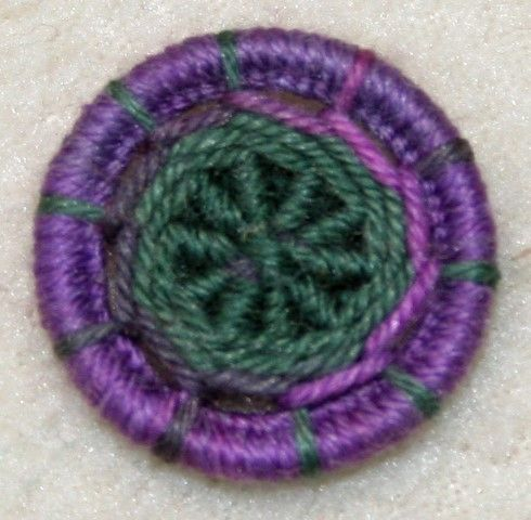 Dorset Button Kit - Yarrell Design, Dog Violet
