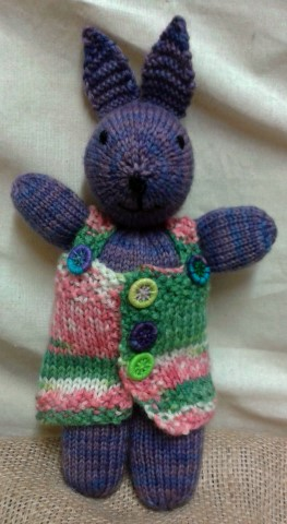 Jemima Rabbit, Knitting Pattern