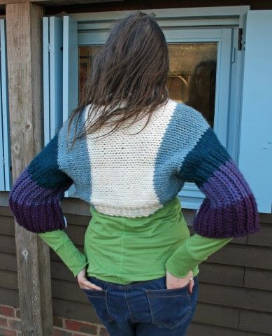 Rollright Shrug and Cape, Knitting Pattern