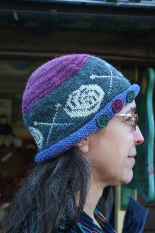Yarn and Needles Hat, Knitting Pattern